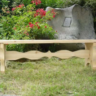 banc en bois mélèze