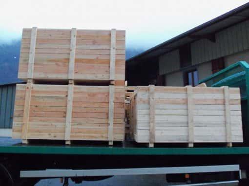 emballage bois sur mesure