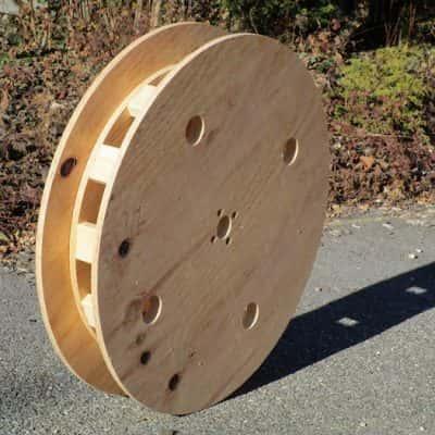 bobines et tourets en bois sur mesure