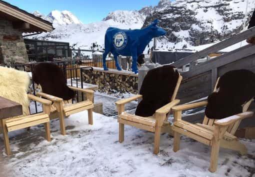 fauteuil Adirondack en bois