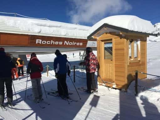 Guérite domaine skiable