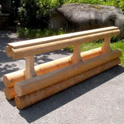Séparateur de voie bois