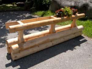 Michel Monin Bois, mobilier d\'extérieur bois et aménagement en mélèze