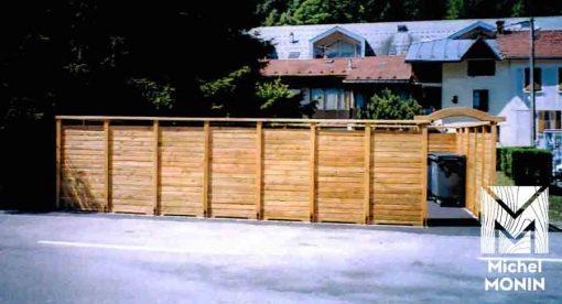 cache container en bois