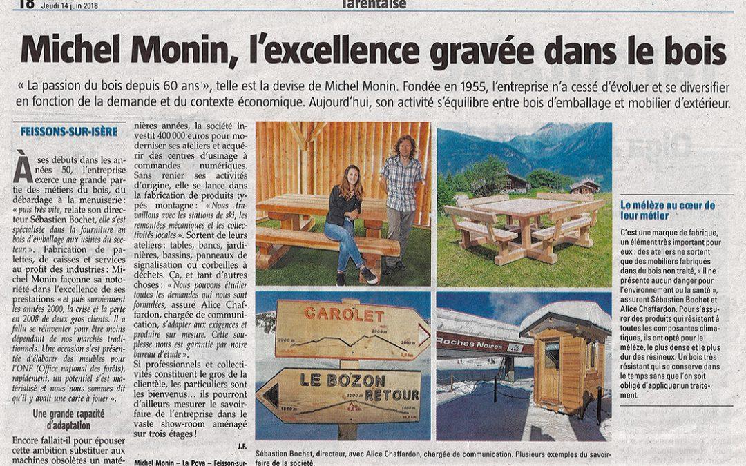 On parle de nous dans le journal La Savoie !