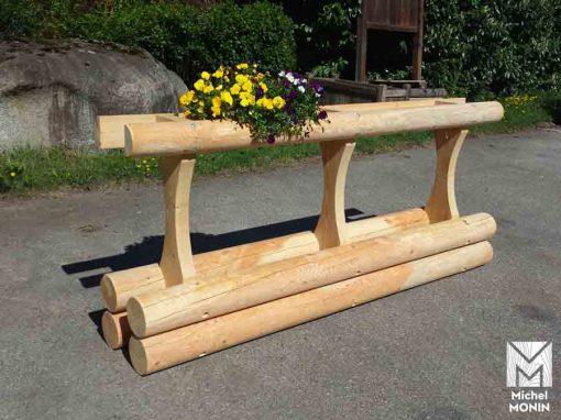 bord de route en bois