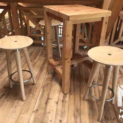 tabouret en bois design
