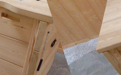 Le composteur bois par Michel MONIN