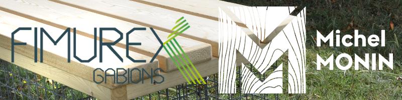 Accompagnement de projet bois: L'alliance Michel MONIN & Fimurex Gabions