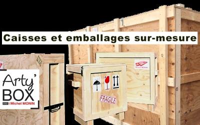 Caisses bois et emballages bois sur-mesure Michel MONIN