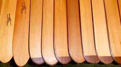 Alpine Paddle, ou l'art de la pagaie en bois.