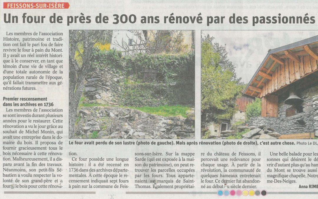 Une rénovation à l'initiative de Michel MONIN