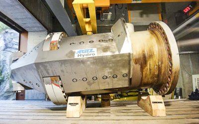 Berceaux en bois pour injecteur 14 tonnes